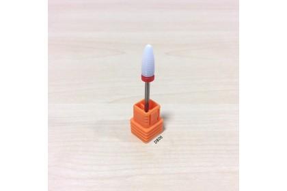 Nail Drill Bit-Ceramic White 3/32 Remove Foot Calluses-F