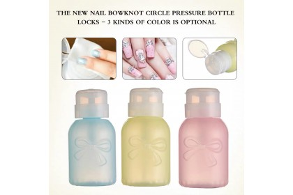 Colorful Remover Pump Bottle with Lock