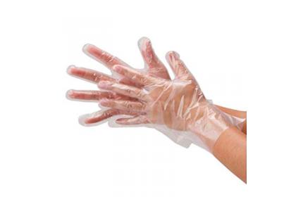 PE Glove (Clear - 100pcs/box)
