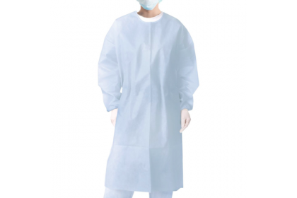 White Isolation Gown (Washable)