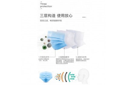 ALIEN Brand Surgical 3ply Face Mask